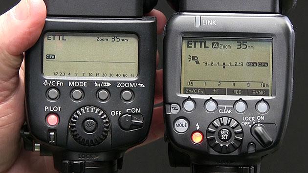 580ex ve 600ex arka tarafları