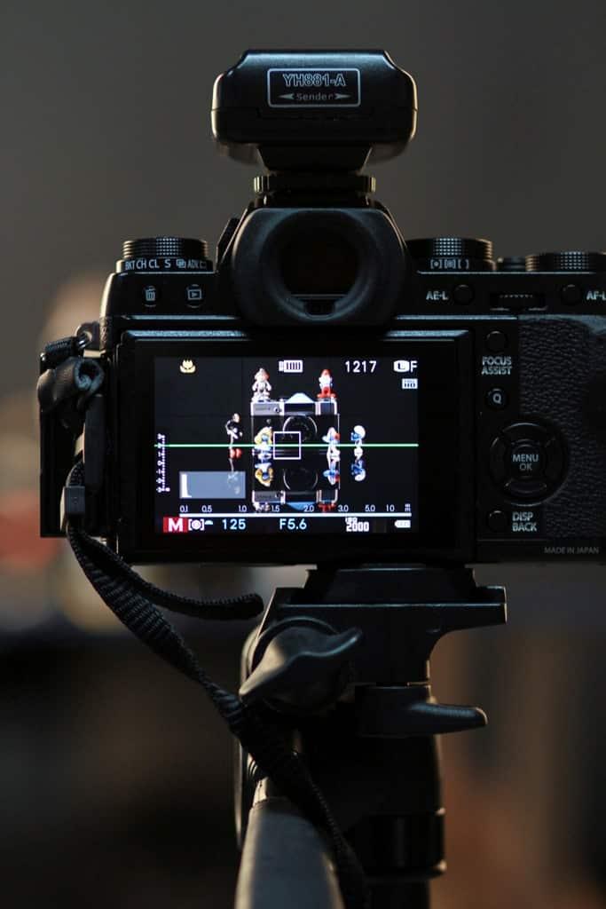 Çekim Esnası 7D ile çekilmiştir.