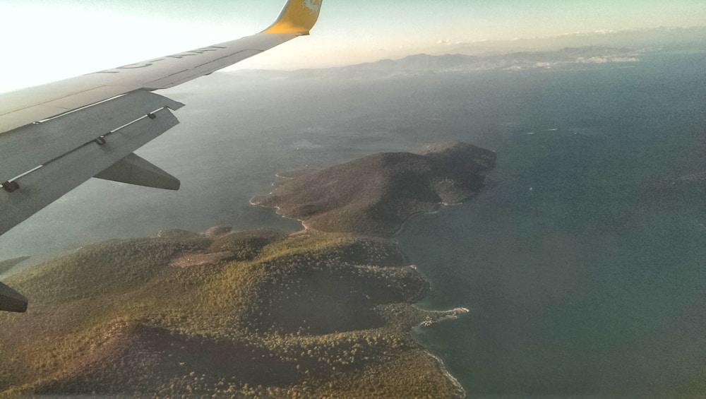 Bodrum kesinlikle havadan gördüğüm en güzel yerler arasında