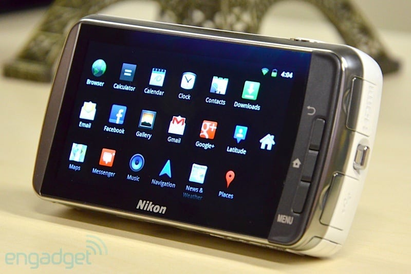 Nikon-S800c-Android
