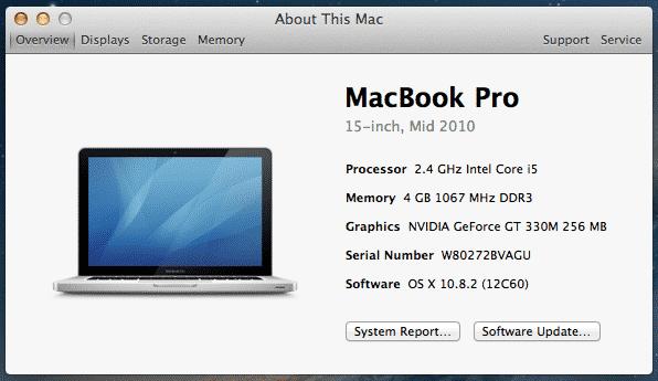 MacOS Konfigurasyonum