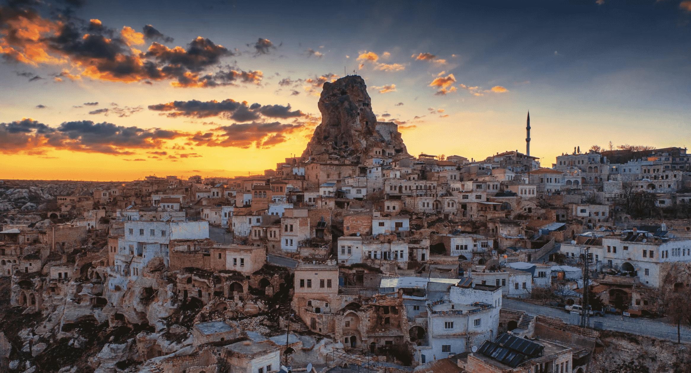 Uchisar Area, Cappadocia, Turkey  № 1427733 бесплатно