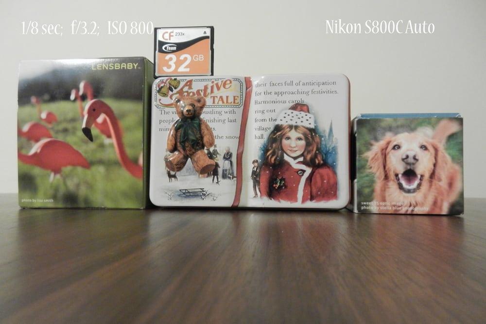Nikon S800C Otomatik Ayarda Çekim