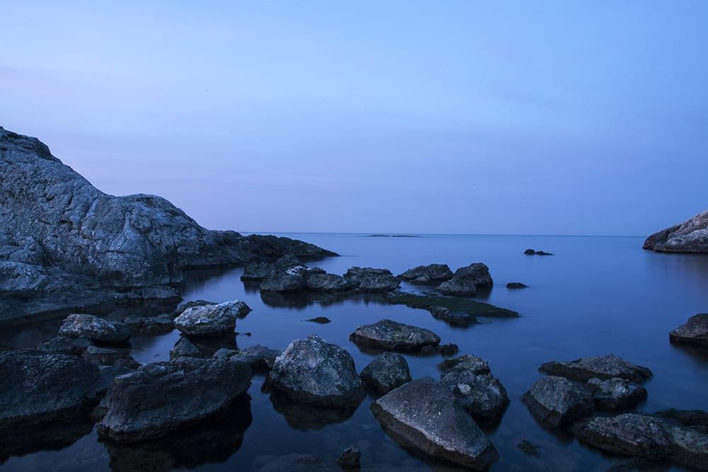 Raw çekilen fotoğrafın beyaz ayarını soğuk kısma çekerek fotoğrafın mavi tonlara sahip olmasını sağladım
