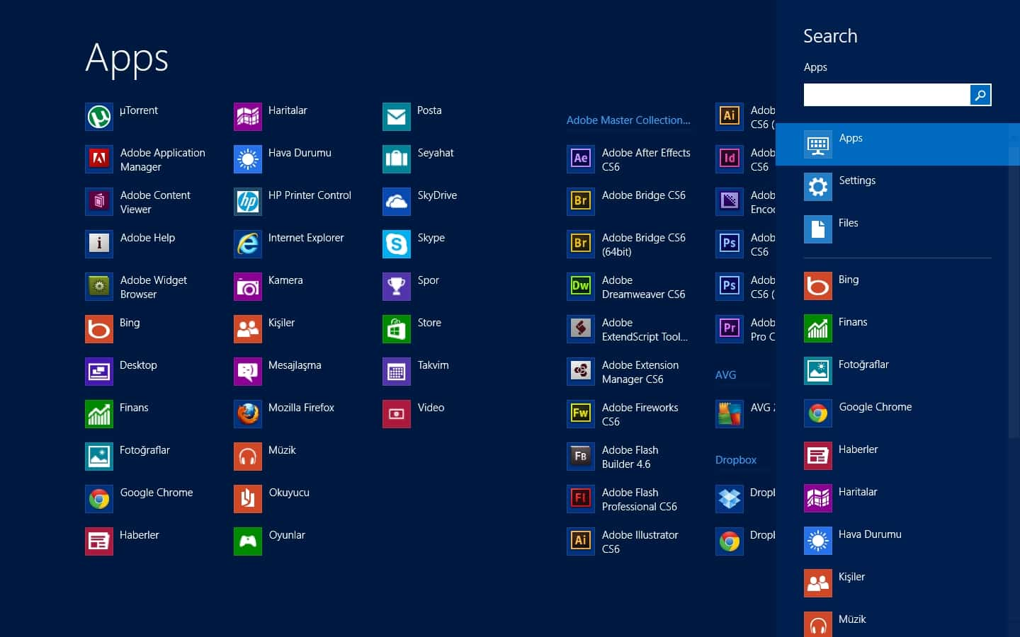 win8search
